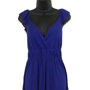 Allen B-Allen Schwartz |Blue maxi dress